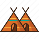 camp, camping, holiday, tents, tourism, travel icon