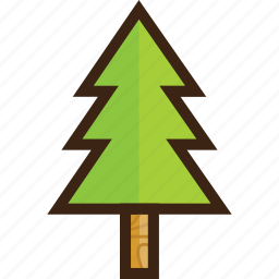 forest, holiday, pine, tourism, travel, tree, wilderness icon