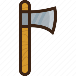axe, holiday, saw, timber, tourism, travel icon