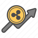 buy, coin, cryptocurrency, ripple icon