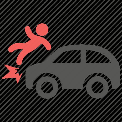 accident, car, crash, hazard, insurance, risk icon