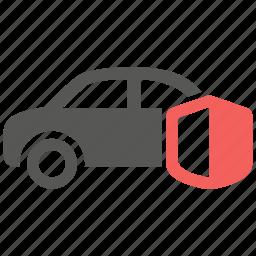 auto, automobile, car, insurance, protection, vehicle icon