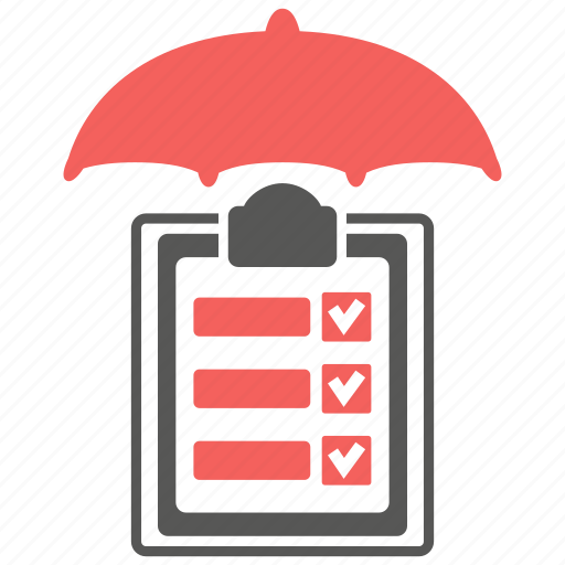 audit, business, financial, insurance, safety, security, umbrella icon