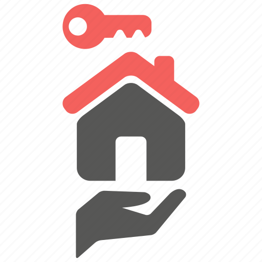 building, care, home, house, key, landlord, property icon