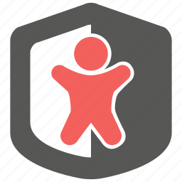 insurance, life, protection, risk, safety, security, shield icon