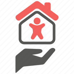 home, insurance, life, mortage, protection, safety, security icon