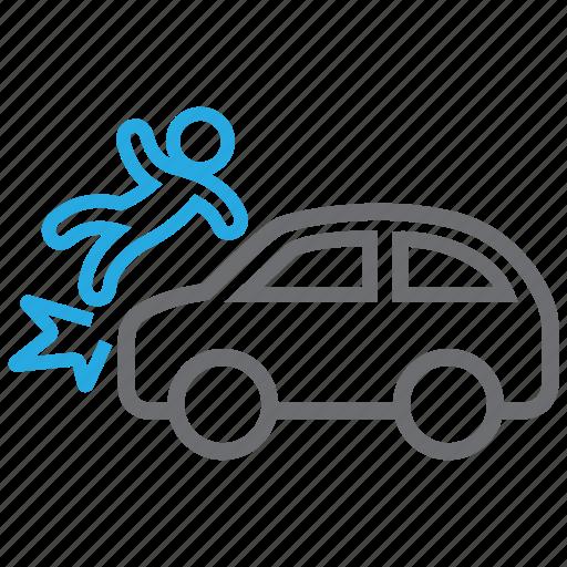 accident, car, crash icon