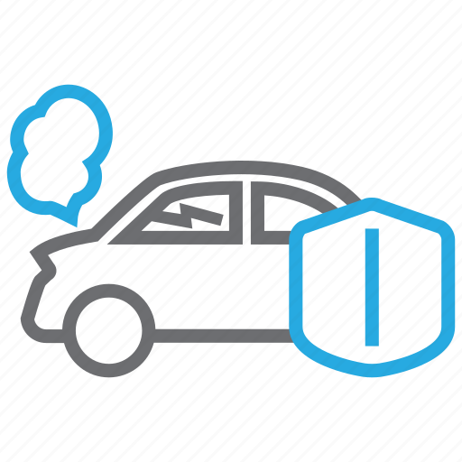 accident, car, insurance, vehicle icon