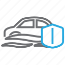 auto, car, flood, insurance icon