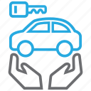 automobile, buy, car, owner icon