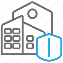 building, business, construction, insurance, property icon