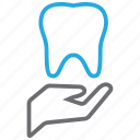 dental, dentist, dentistry, insurance, teeth icon