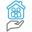 care, family, home, household, life icon