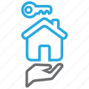 buy, home, household, landlord icon