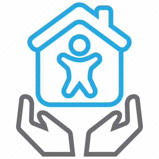 Insurance, life, mortage, house icon - Download on Iconfinder
