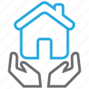 home, house, insurance, property icon