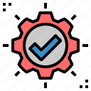 approved, available, check, correct, ok, pass, qualify icon
