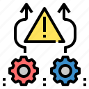 avoid, caution, danger, hazard, risk, shun, warning