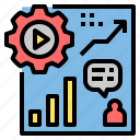 analysis, analytics, data, graph, information, knowledge, statistic icon