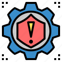 guard, mitigation, protection, risk, safety, secure, security icon