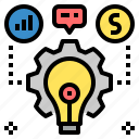 business, creative, design, idea, information, plan, project icon