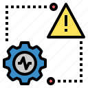 Risk Danger Beware Hazard Warning Caution Activity Icon