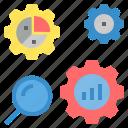 analyse, analysis, analytics, assess, check, consider, graph icon