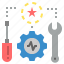applied, construction, instrument, machine, repair, tool, tools icon