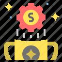 award, currency, finance, money, reward, value, worth