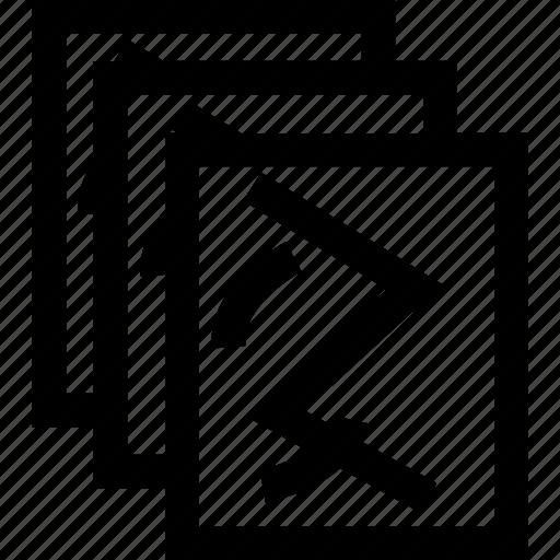 collate, copies, copy, create, photo, prints, risograph icon