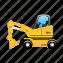machine, construction, repair