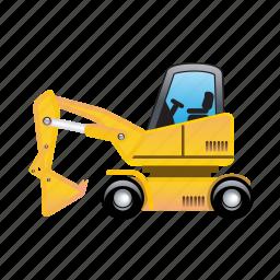 construction, machine, repair icon