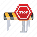 stop, sign, traffic, transportation, transport, road