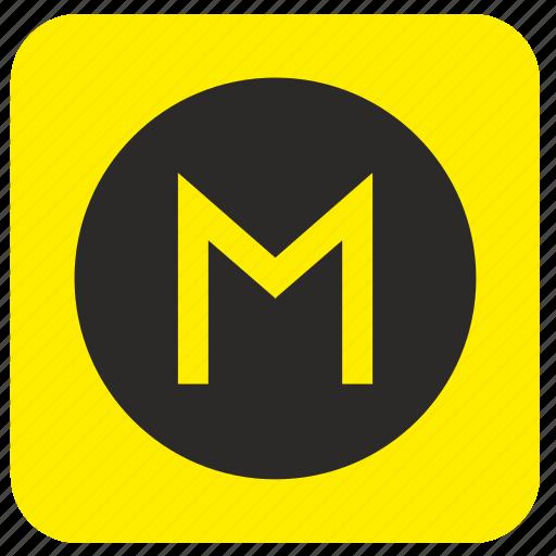 metro, poi, pointer, road, station icon