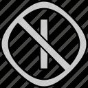 forbid, instruction, sign, traffic