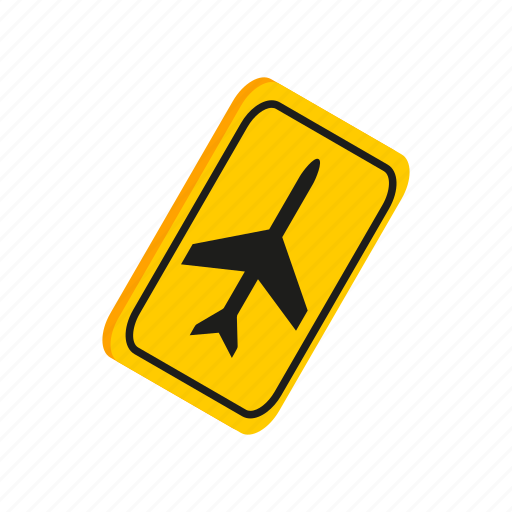 air, aircraft, airplane, isometric, jet, transportation, travel icon