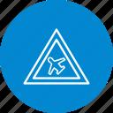 air field, airplane, airport, plane icon