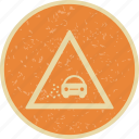 gravel, lose, transport icon