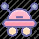 auto, cyborg, device, face, fly, future, helper, programming icon