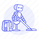 ai, vacuum, cleaning, robot, clean