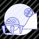 ai, explorer, ground, robot icon