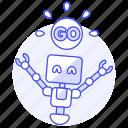 ai, behavior, go, robot