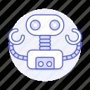 ai, modern, robot
