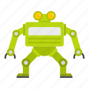 cyborg, future, futuristic, machine, robot, robotic, technology icon