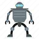 cyborg, electronic, future, robot, robotic, science, technology icon
