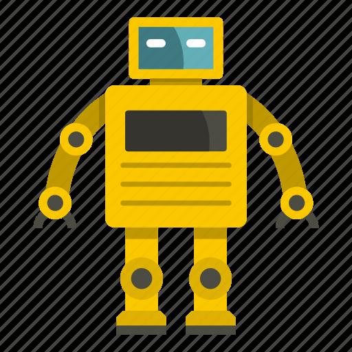cyborg, electronic, future, robot, robotic, science, technology icon