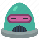 avatars, bot, droid, retro, robot icon