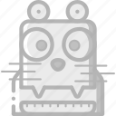avatars, bot, dog, droid, robot icon