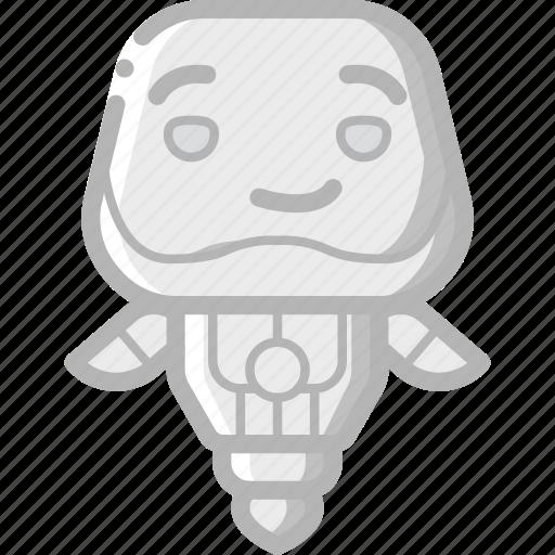 avatars, bot, droid, robot, smug icon