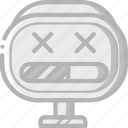 avatars, bot, droid, loading, robot icon